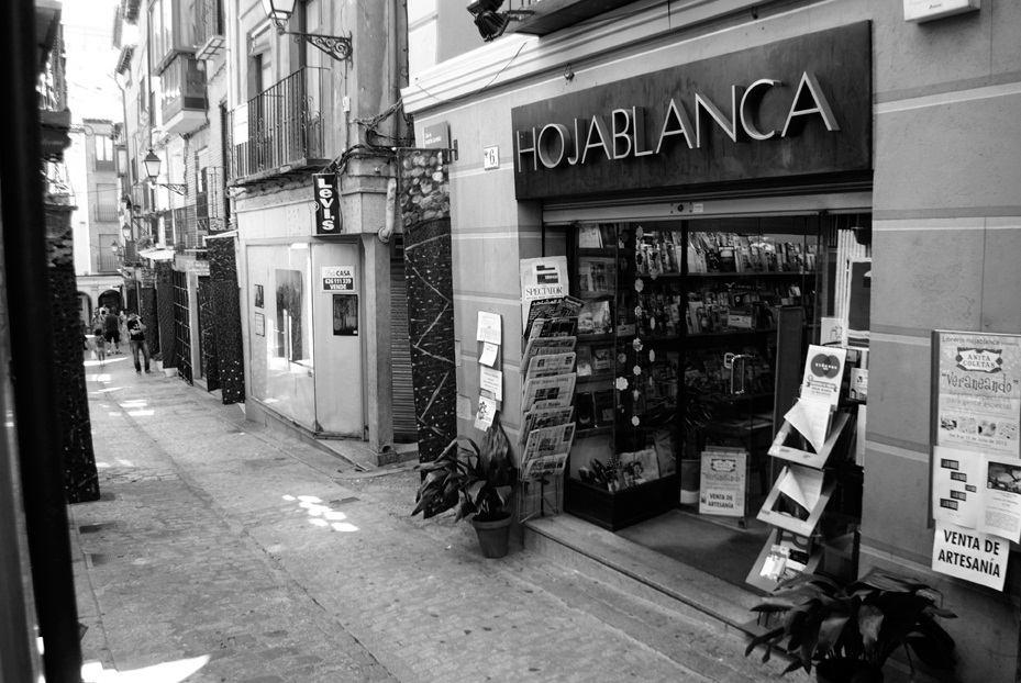 Librerías con encanto: Hojablanca (Toledo)