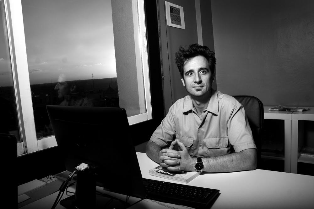"""Javier Gallego: """"El periodismo no tiene que ser el cuarto poder, sino el contrapoder"""""""
