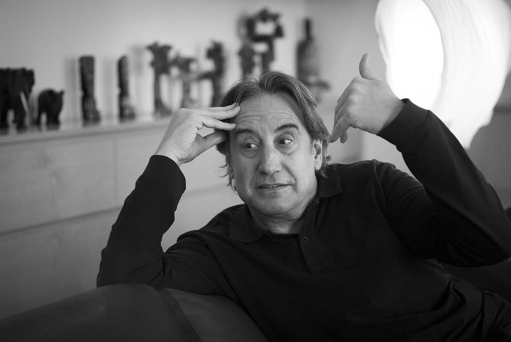 """Juanjo Puigcorbé: """"Si se hubiera invertido en cultura la décima parte de lo que se ha invertido en deporte, este país sería uno de los más importantes"""""""
