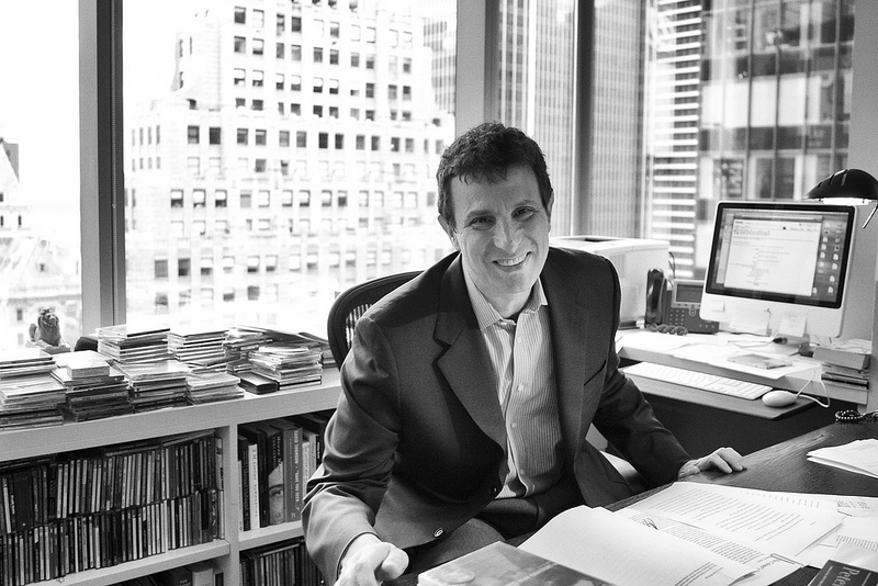 """David Remnick : """"Let's not to be romantic about the uniformed brilliant quality of all journalism in the pre-internet age. There was a lot of crap"""""""