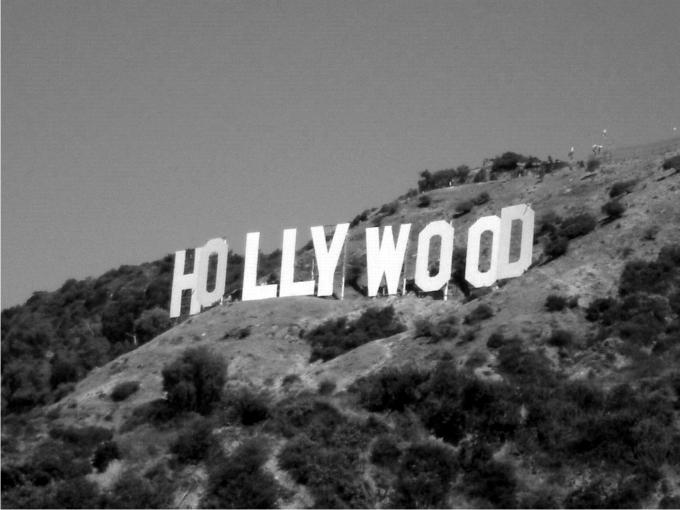The Hollywood Sign en la actualidad. Foto: Àgata Sala.