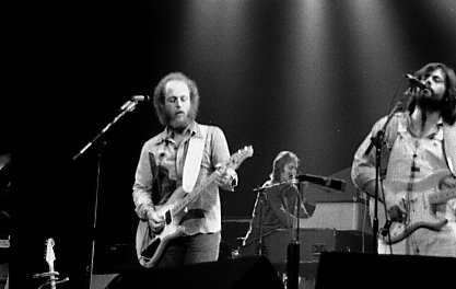 Paul Barrere y Lowell George, de Little Feat, en 1977. Foto: Jean Luc (CC)