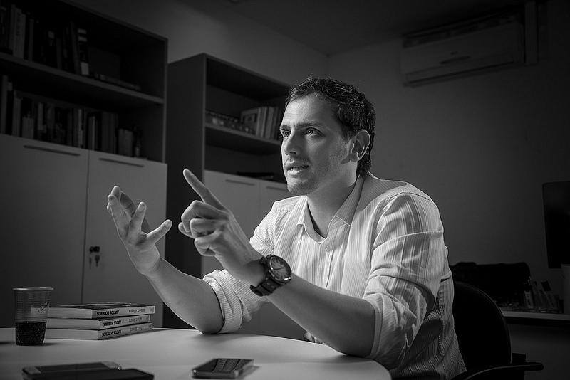 Albert Rivera: «Vaig prendre la decisió de què si tenia un càrrec, era per exercir-lo»