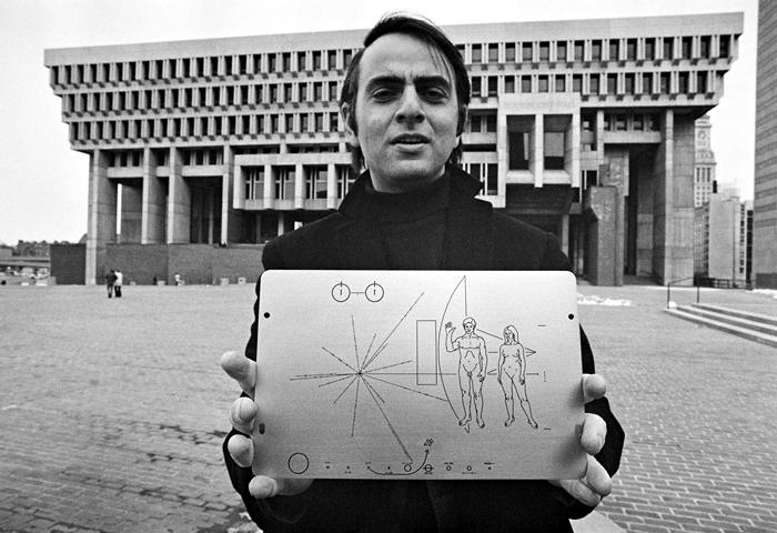 Carl Sagan. Foto: Corbis.