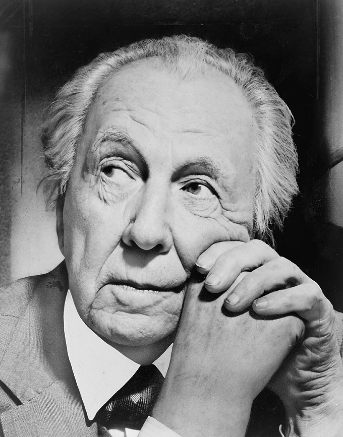 Frank Lloyd Wright, 1954. Fotografía Al Ravenna - Library of Congress