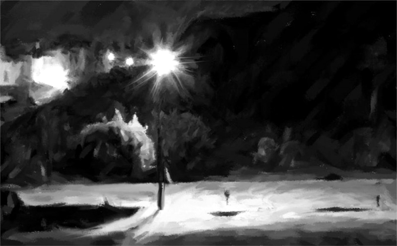 Los niños invisibles: sol de noche