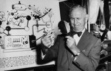 Rube Goldberg pasando la lupa © National Public Radio
