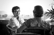 Javier Cercas y Enric González o la literatura, el periodismo y viceversa