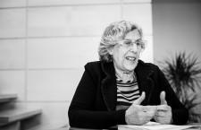 Manuela Carmena: «No tengo contacto ninguno con Podemos»