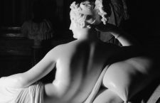 Back View Detail of Paolina Borghese as Venus Victrix by Antonio Canova --- Image by © Massimo Listri/Corbis