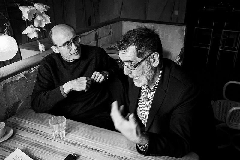 Javier María Prades López y Juan José Gómez Cadenas para JD 1