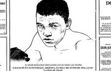 Obituario ilustrado: Muhammad Ali