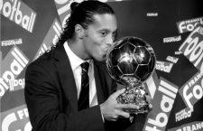 Cuando Ronaldinho desbancó a Zidane y a Ronaldo como mejor jugador del mundo