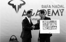 Imágenes crepusculares de Roger Federer y Rafa Nadal