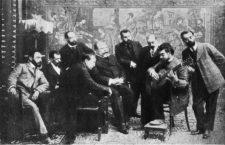 Francisco Tárrega tocando entre amigos. (DP)