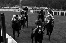 File photo dated 25/07/1981 of Shergar with Walter Swinburn (centre).