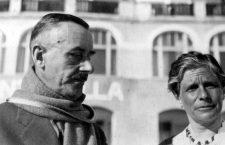 THOMAS MANN-With his wife Katia. 1932