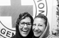 The last photo of Lorena (left) and Verbena (right) together. © Verbena Bottini.