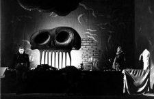 Don Juan Tenorio, escenografía de Salvador Dalí. Teatro María Guerrero, Madrid, 1950. Foto: Biblioteca Nacional (DP)