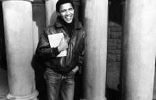 UNSPECIFIED  :  Barack Obama as student at Harvard university, c. 1992  (Photo by Apic/Getty Images)
