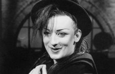 ARCHIVE IMAGE from February 1983: Boy George pictured on the Culture Club in February of 1983.   CAP/MPI/GG ©GG/MPI/Capital Pictures