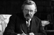 British author Gilbert Keith Chesterton (1874 - 1936).  Original Publication: People Disc - HC0527   (Photo by Hulton Archive/Getty Images)