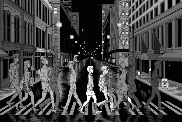 Unreal City: abran paso al hijo de Daniel Clowes y Charles Burns