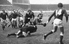 All Blacks vs. Gales, 1972. Fotografía: Leonard Burt / Getty Images.