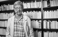 L' auteur Hubert Nyssen en juillet 1992
