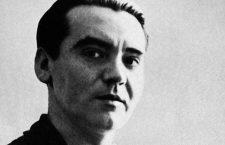FEDERICO GARCIA LORCA  (1899-1936). Spanish writer.