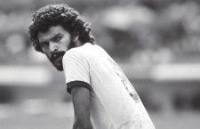 Socrates durante el partido entre Brasil e Italia en la Copa Mundial de Fútbol 1982. Fotografía: Maurizio Borsari / Cordon Press.