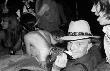 "(Original Caption) 6/7/1979-New York, NY-Author Truman Capote attends a 10th anniversary party for Andy Warhol's magazine ""Interview"" at Studio 54, the posh New York disco, June 7. Capote currently is one of the contributing editors of the magazine."