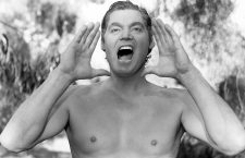 Johnny Weissmüller como Tarzán ca. 1940. Imagen: Cordon.