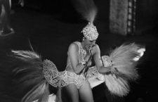 Joséphine Baker (1906-1975), American artist of music-hall. Casino of Paris, december 1939.