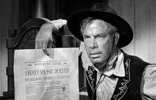El hombre que mató a Liberty Valance (1962). Imagen: Paramount Pictures.