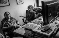 Emilio Bernárdez y Natalia Mosquera: «Imaginarme a alguien leyendo un cómic de La Cúpula en una tablet me parece una aberración»