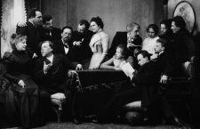 Anton Chekhov between actors of the play The Seagull, 1899. Found in the collection of State Central Literary Museum, Moscow. Artist :  Pavlov, Pyotr Petrovich (1860-1925). (Photo by Fine Art Images/Heritage Images/Getty Images)