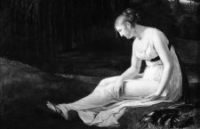 Melancholy .*1300 x 1650 cm .*signed b.r.