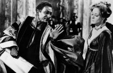 Laurence Olivier as Othello with Vanessa Redgrave (?) 12th July 1989