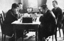 El match por el Campeonato del Mundo de 1908