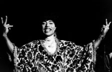 Little Richard en 1970. Foto: Cordon.