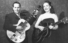 Les Paul y Mary Ford, en 1951. (Cordon)
