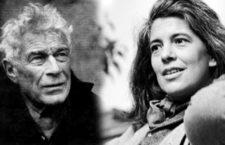 John Berger y Susan Sontag. (DP)