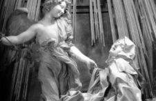 Detalle de El éxtasis de santa Teresa, de Bernini. (DP)