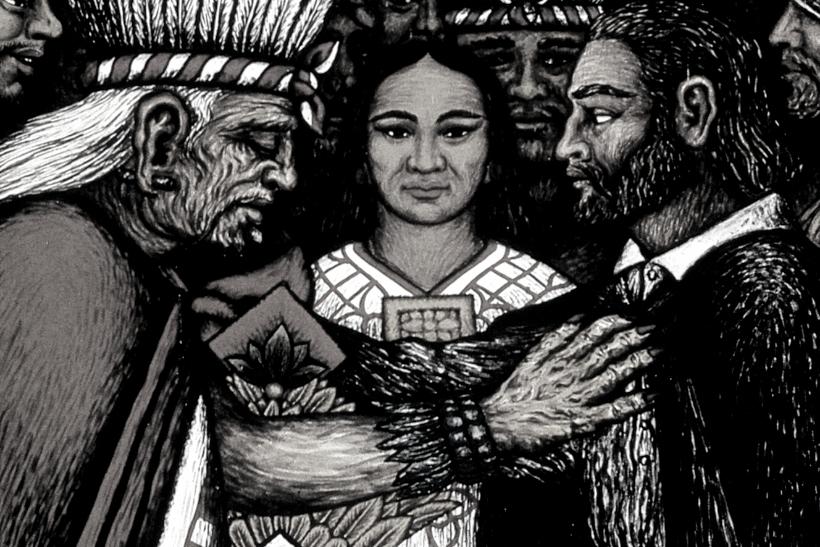 Pintura Doña Marina o Malinche