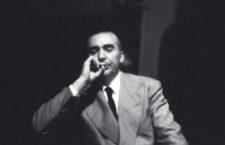 Curzio Malaparte, 1955. FotografÌa: Carlo Bavagnoli / Getty Images.