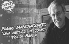 Premio ManchaCómic 2020 : Victor Barba galardonado.