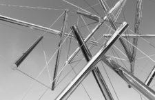 Stainless Steel, una escultura de Kenneth Nelson en Gran Rapids, Michigan. Fotografía: Barbara Eckstein (CC).